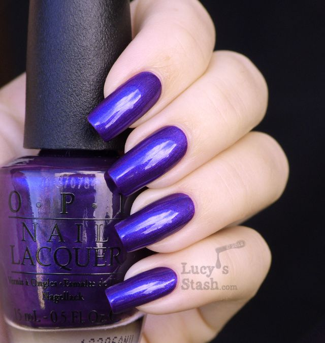 Lucy's Stash - Tomorrow Never Dies OPI Skyfall Collection