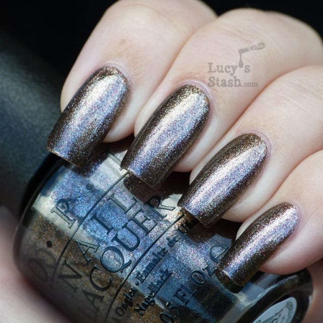 Lucy's Stash - The World Is Not Enough OPI Skyfall Collection
