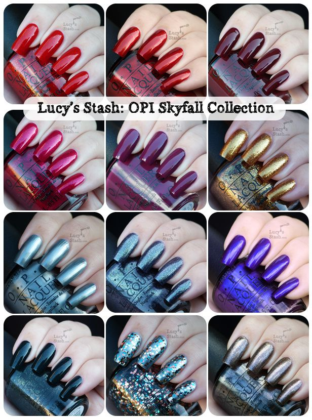 Lucy's Stash - OPI Skyfall Collection