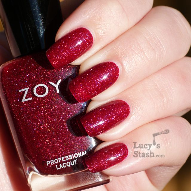 Lucy's Stash - Zoya Blaze from Ornate collection