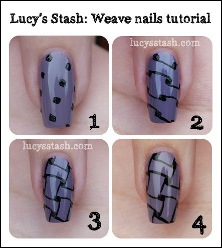 Lucy's Stash - Tutorial for the Weave pattern
