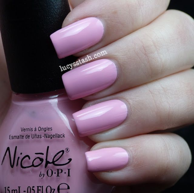 Lucy's Stash - Nicole By OPI Up & Kim-ing Pink