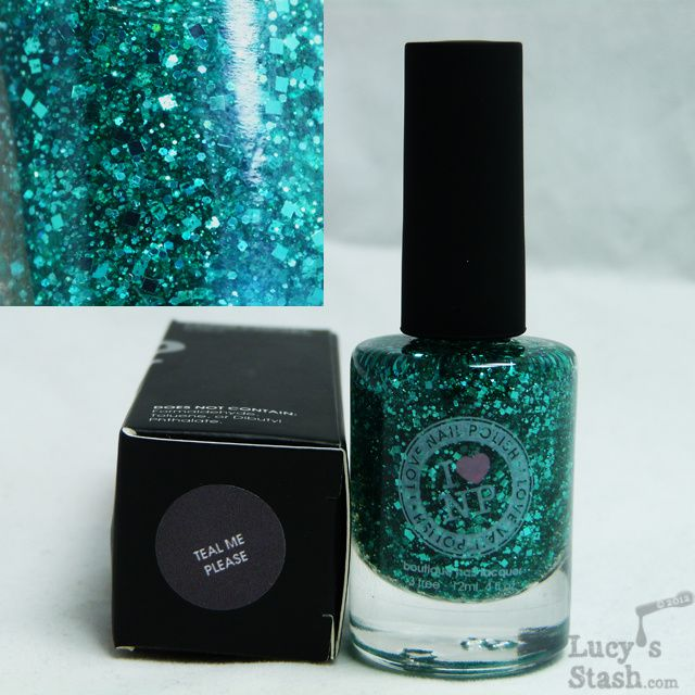 Lucy's Stash - I Love Nail Polish Teal Me Please
