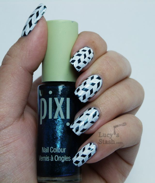 Jonqal Pattern Nail Art With Step By Step Tutorial Lucys Stash