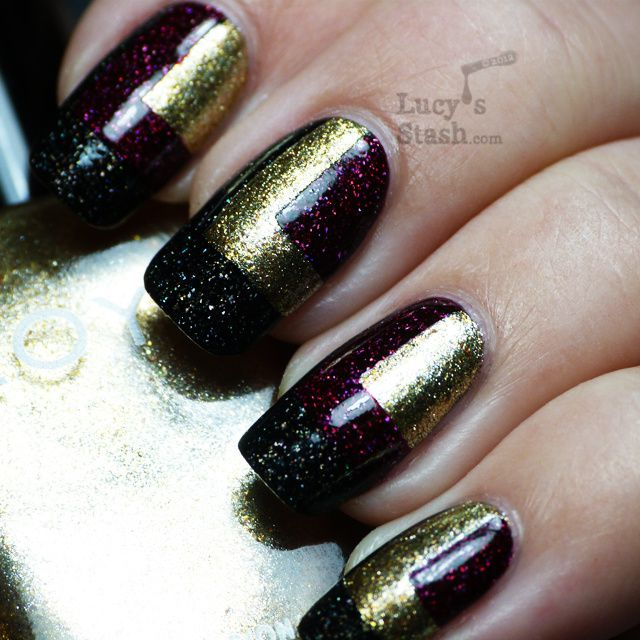 Lucy's Stash - Squares with Zoya polishes