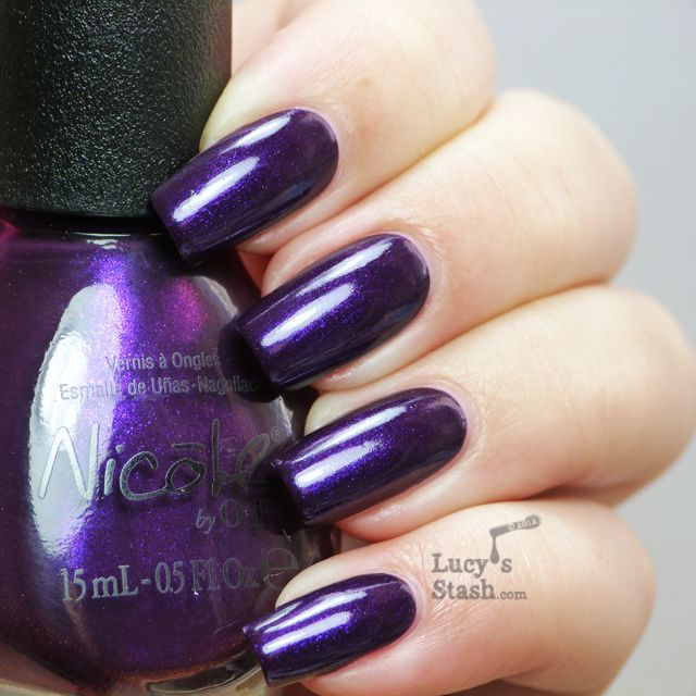 Lucy's Stash -  Nicole by OPI Here We Kome A-Karoling