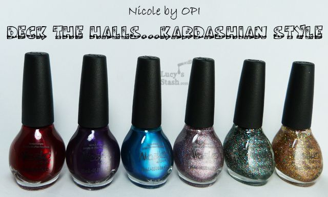 Lucy's Stash -  Nicole by OPI Deck The Halls