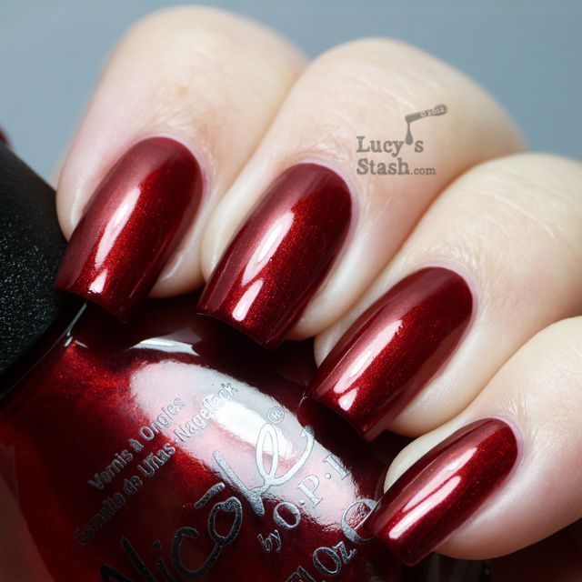 Lucy's Stash -  Nicole by OPI Keeping Up With Santa