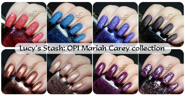 Lucy's Stash - OPI Mariah Carey Collection for Spring 2013