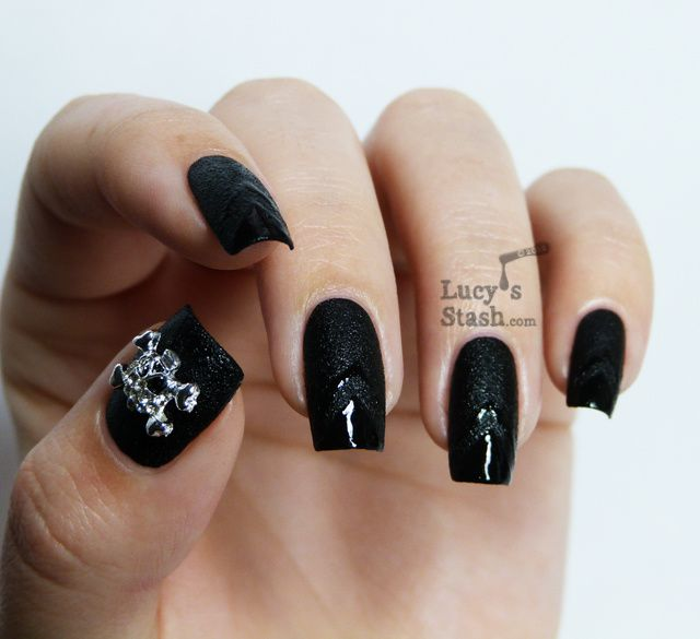 Lucy's Stash - Nails Inc. Leather & Skulls