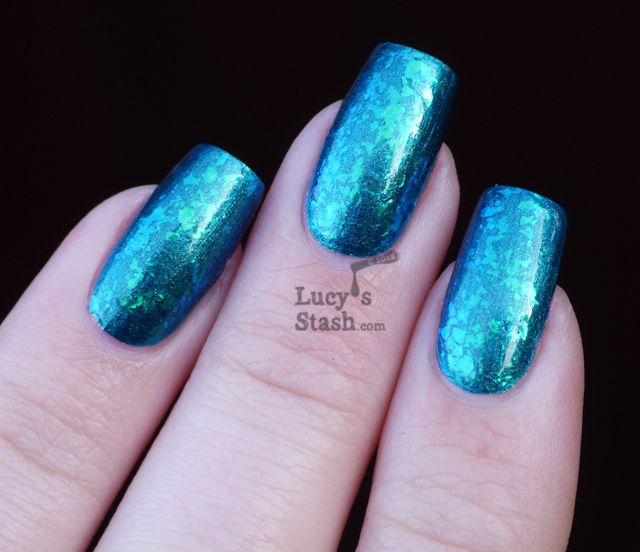Lucy's Stash - Nfu Oh #50 over Nicole by OPI Candid Cameron