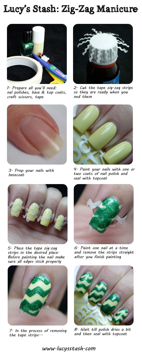 Money Smart Nail Art - you don\'t need expensive tools to produce ...