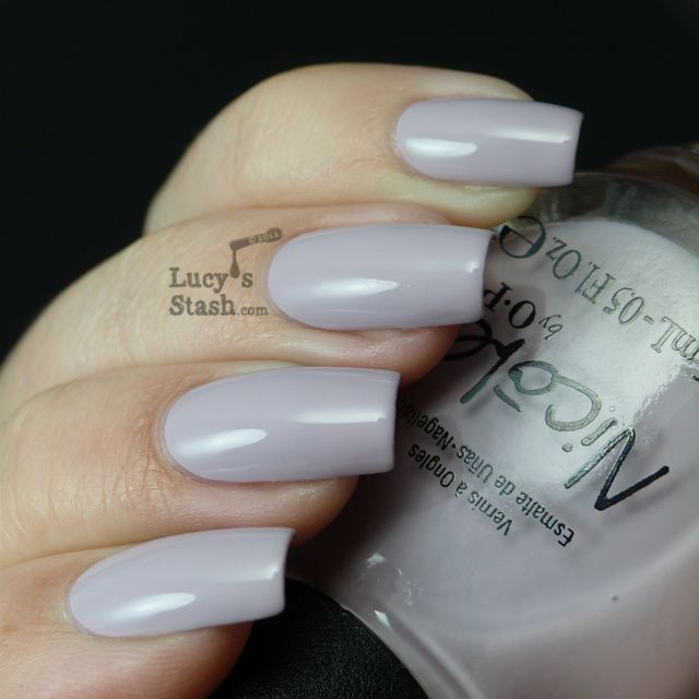 Lucy's Stash - Nicole by OPI Am I Making Myself Claire?