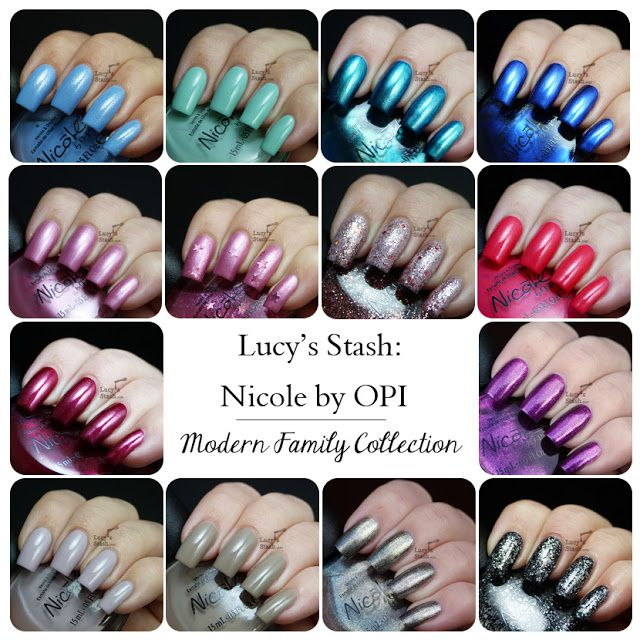 Lucy's Stash - Nicole by OPI Modern Family collection