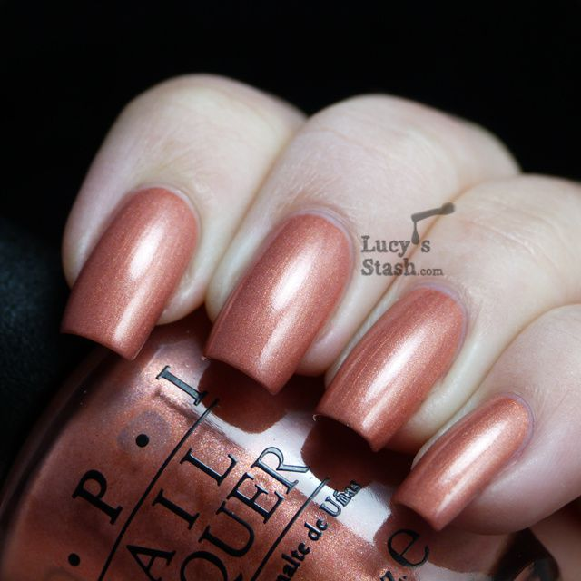 Lucy's Stash - OPI Hands Off My Kielbasa!