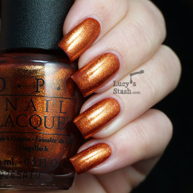 Lucy's Stash - OPI A Woman's Prague-ative