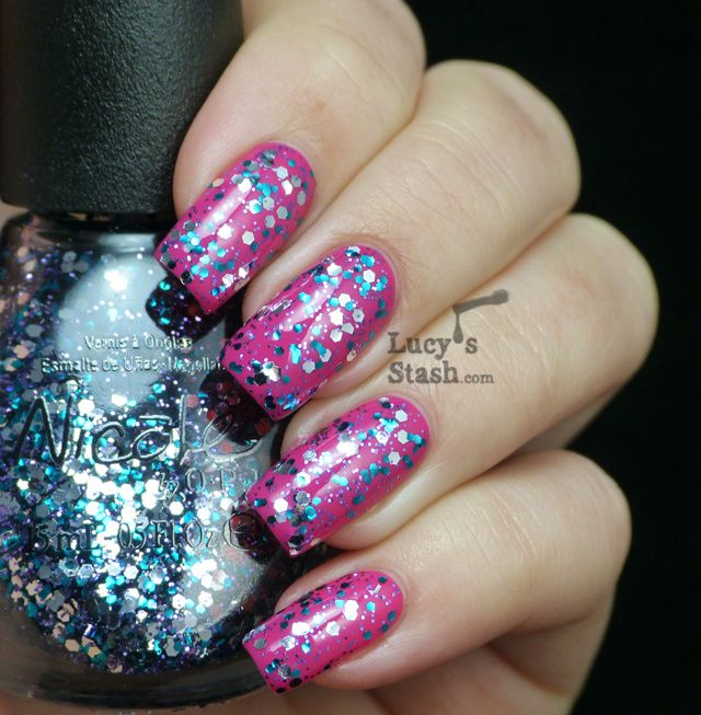 Lucy's Stash - Nicole By OPI Sweet Dreams over Spring Break