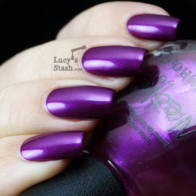 Lucy's Stash - Nicole By OPI Pretty in Plum