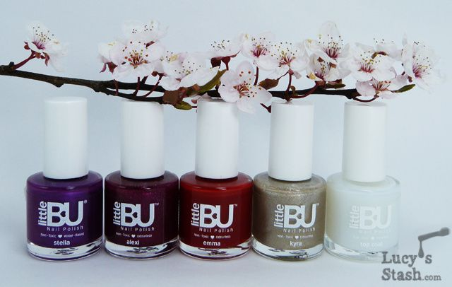 Lucy's Stash - Little Bu polishes