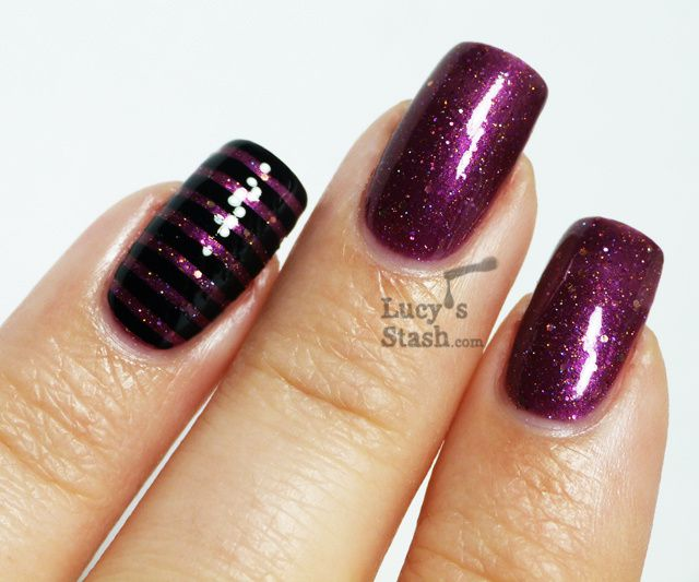 The Gallery For Gt Plum Acrylic Nails