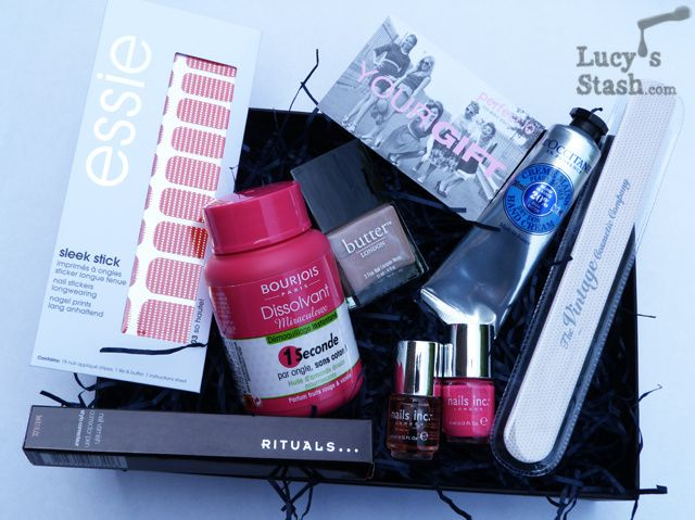 Lucy's Stash - Latest In Beauty Ultimate Summer Nails box