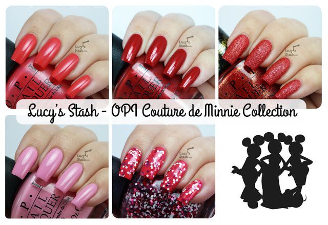 Lucy's Stash - OPI Couture de Minnie Collection