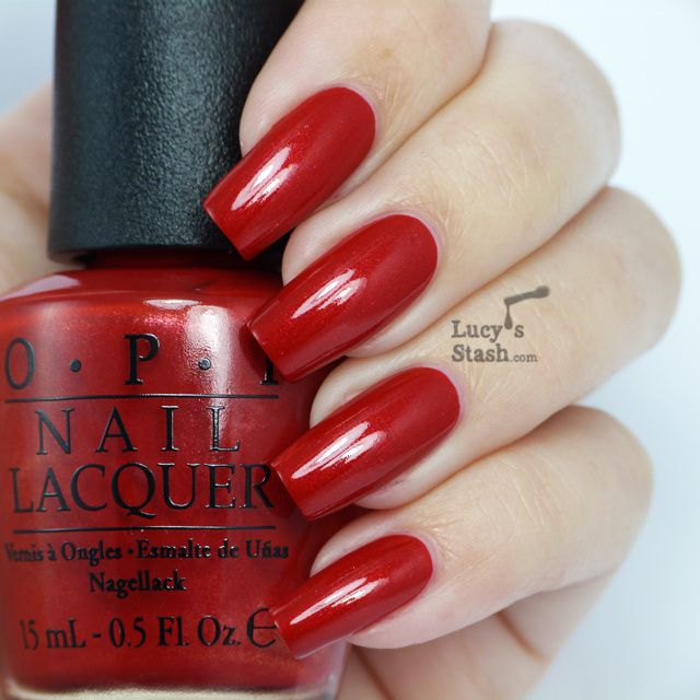 Lucy's Stash - OPI Innie Minnie Mightie Bow from Couture de Minnie Collection