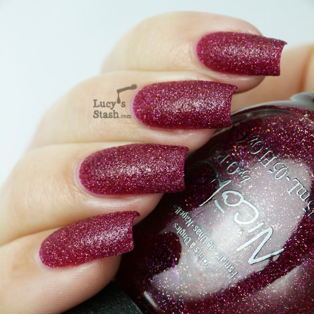Lucy's Stash - Nicole by OPI My Cherry Amour