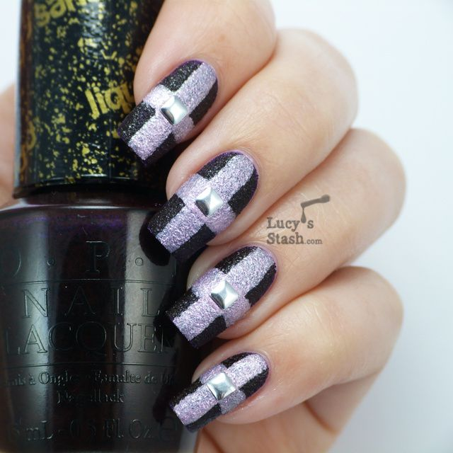Lucy's Stash - OPI Liquid Sand Nail art
