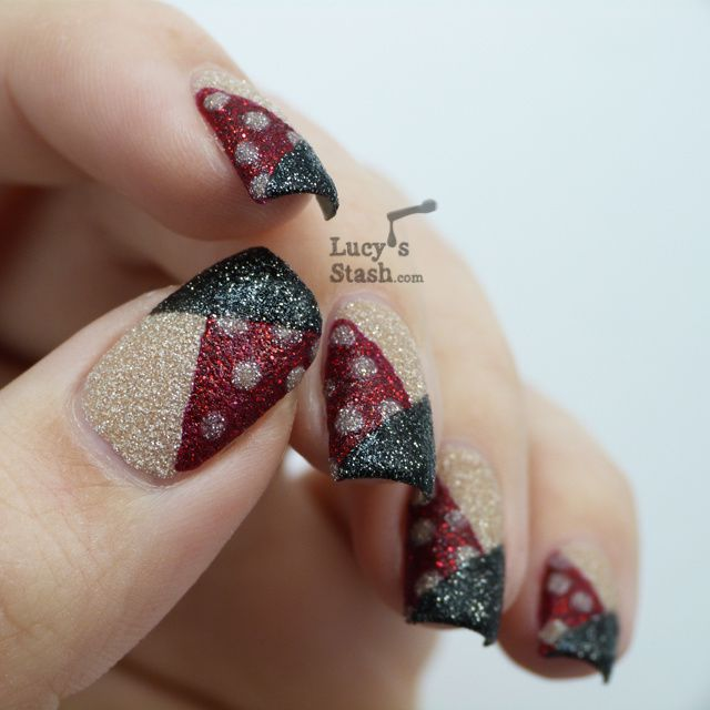 Ucy S Stash Simple Nail Art Design With Zoya Pixiedust Polishes