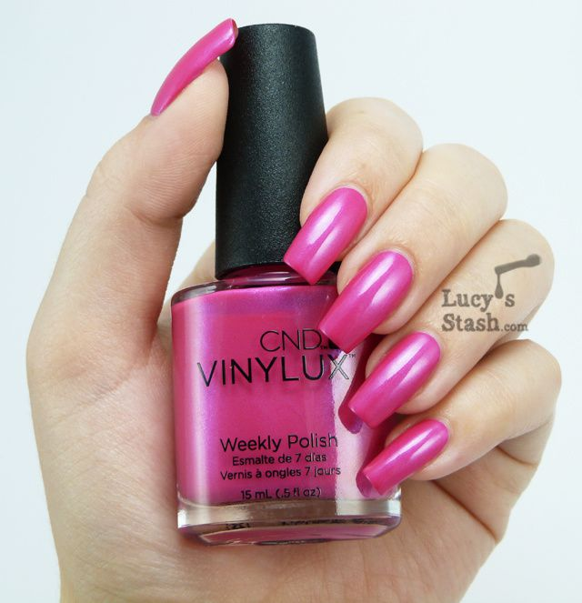 Tutti Frutti Nails: Abstract Nail Art Design Over CND Vinylux Tutti Frutti