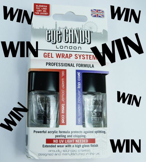 Review: Eye Candy London Gel Wrap System + GIVEAWAY