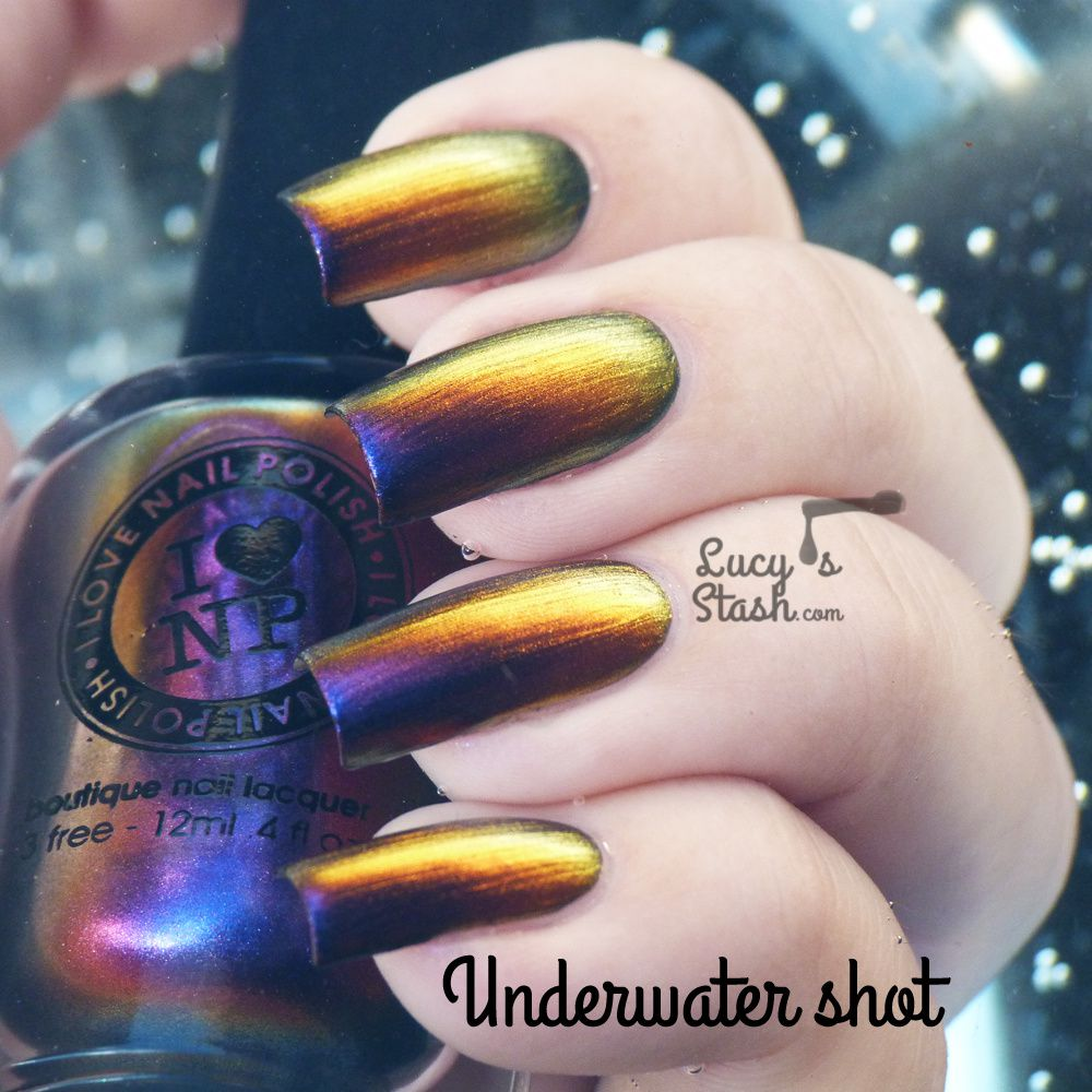 I Love Nail Polish Cygnus Loop from Ultra Chrome collection - Review &amp&#x3B; swatches