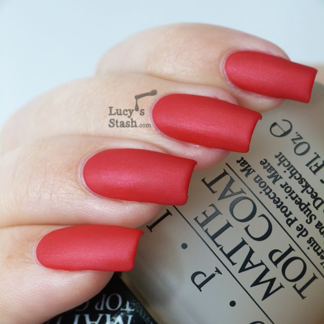 Review: OPI Matte Top Coat