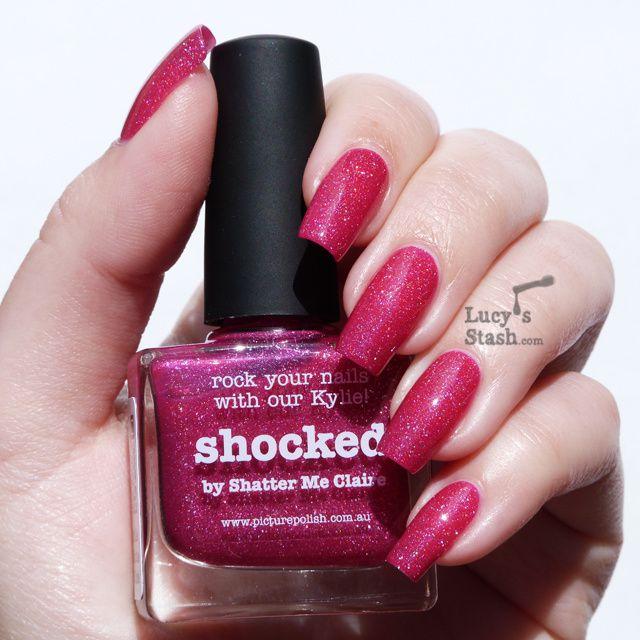 piCture pOlish Monday: piCture pOlish Shocked - Review &amp&#x3B; swatches