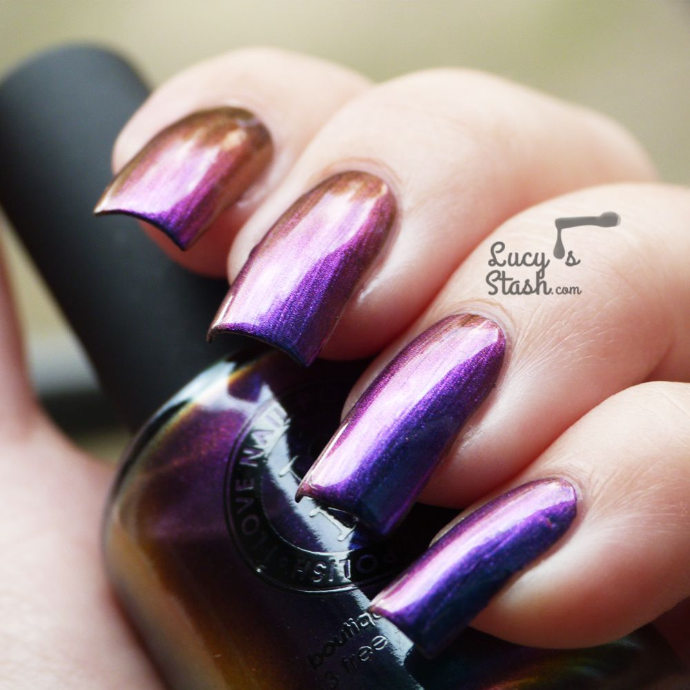 I Love Nail Polish Birefringence - Review &amp&#x3B; swatches