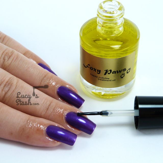 Review: Foxy Paws Happy Cuticles Treatment Oil