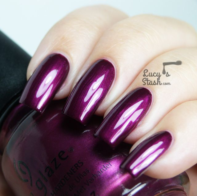 China Glaze Autumn Nights for Fall 2013 - Review and swatches of six shades
