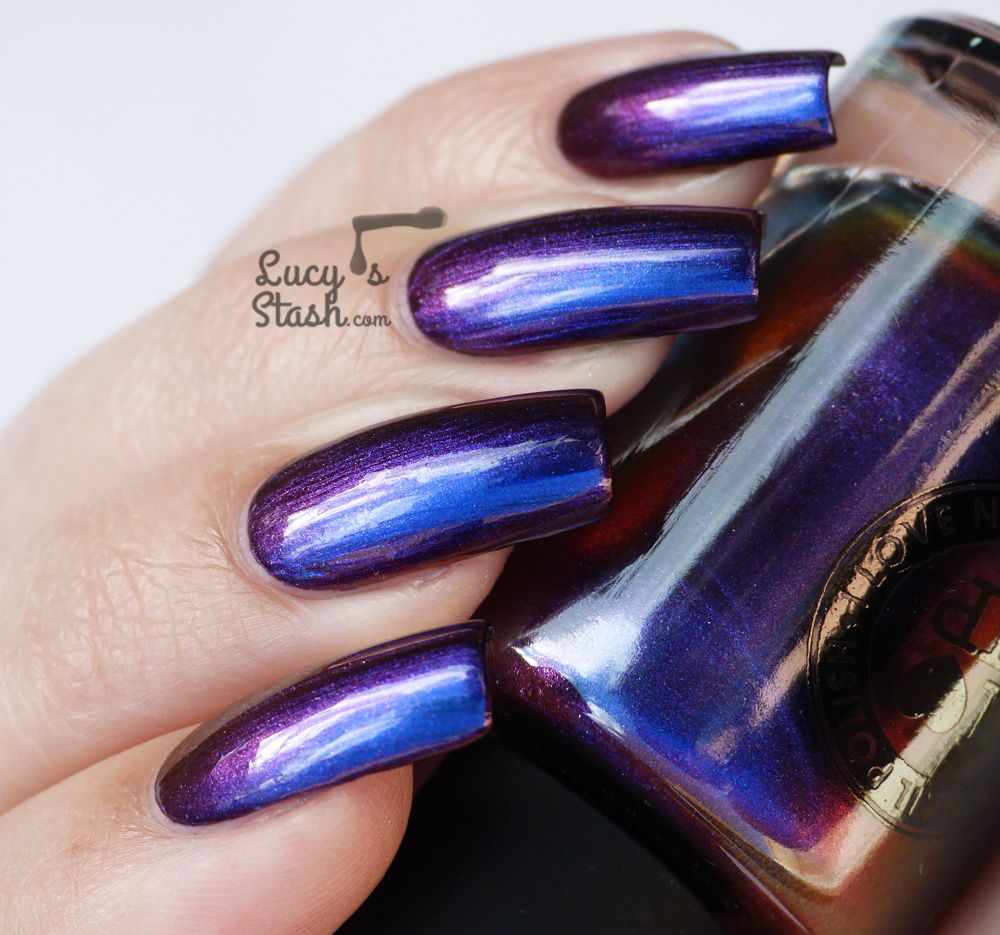 I Love Nail Polish Cygnus Loop from Ultra Chrome collection - Review & swatches