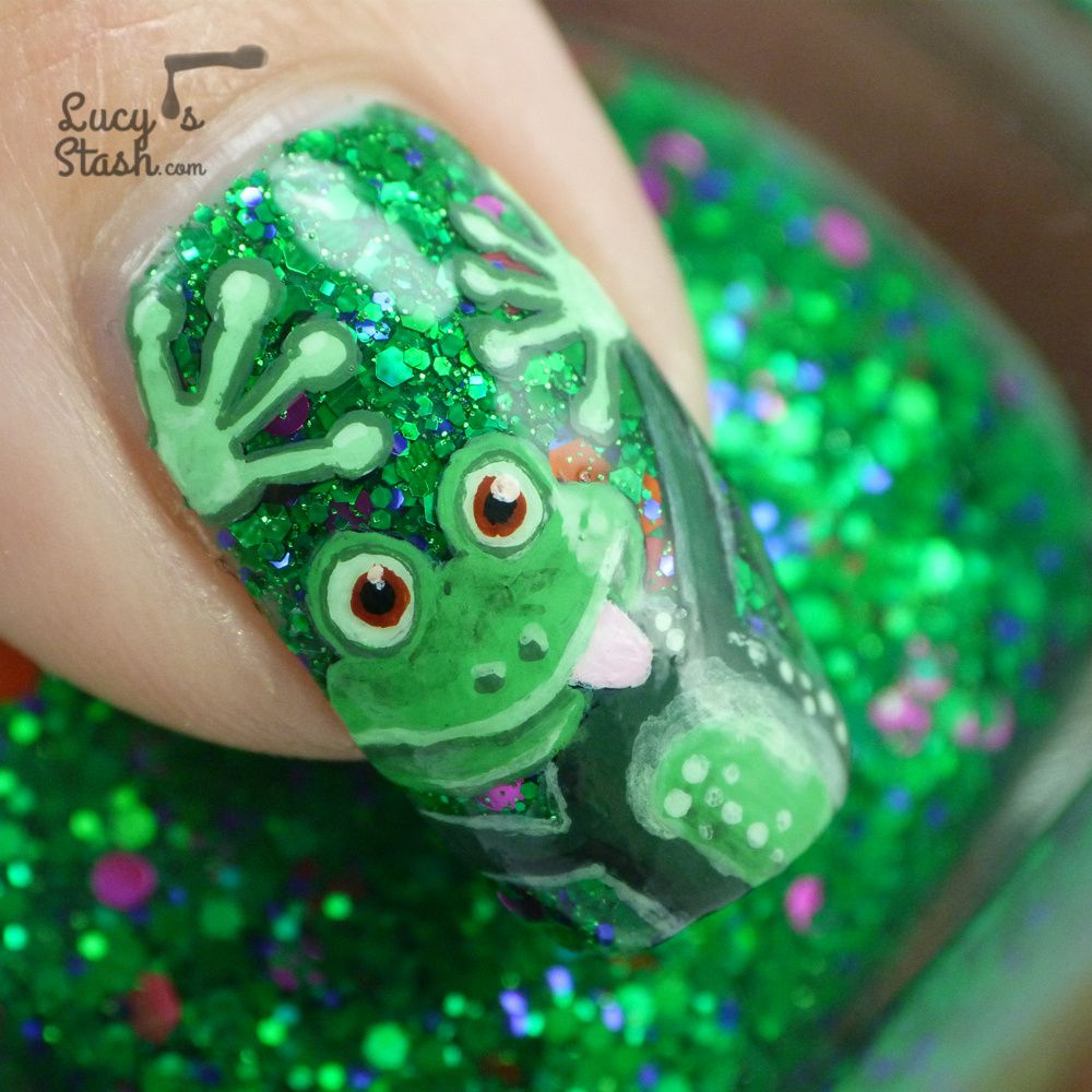Cheeky frog nail art design feat femme fatale noble garden cheeky frog nail art design feat prinsesfo Choice Image