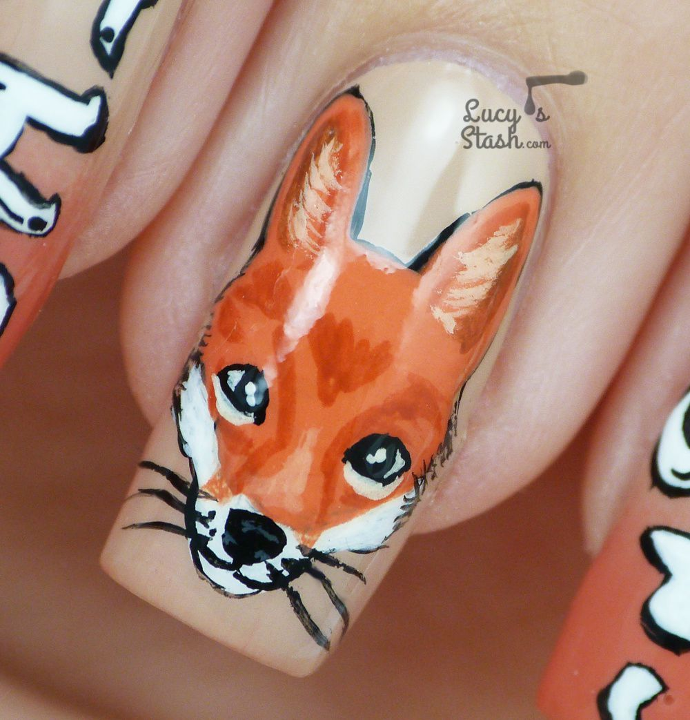 Fox Nail Designs: What Does The Fox Say?