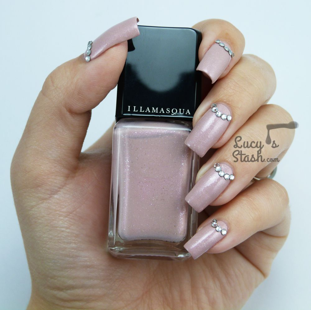Crystal Half-moons &amp&#x3B; Illamasqua Pink Raindrops for Breast Cancer Awareness Month