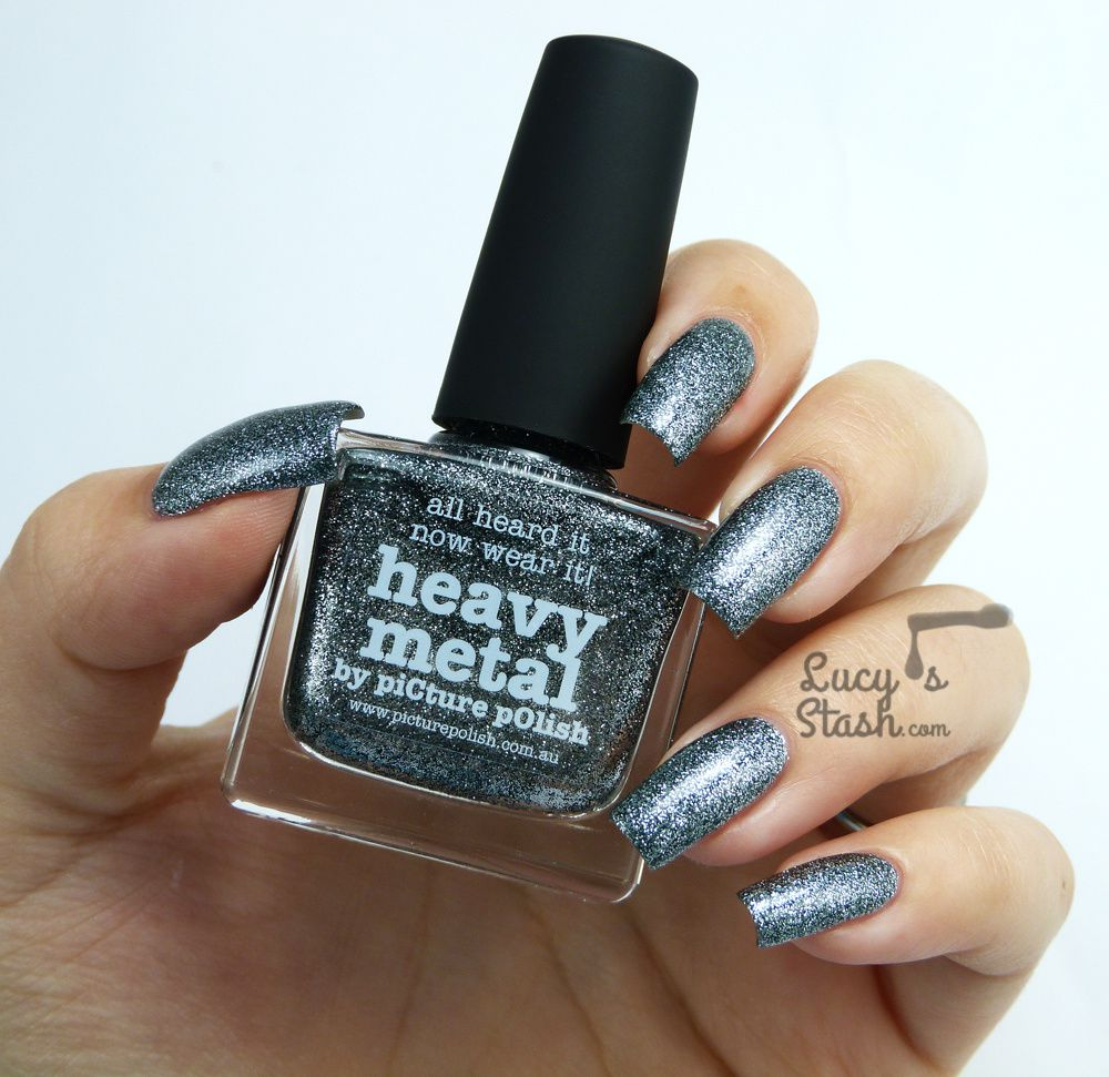 piCture pOlish Monday: piCture pOlish Heavy Metal - Review &amp&#x3B; swatches