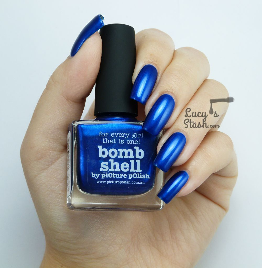 piCture pOlish Monday is back! piCture pOlish Bomb Shell - Review &amp&#x3B; swatches