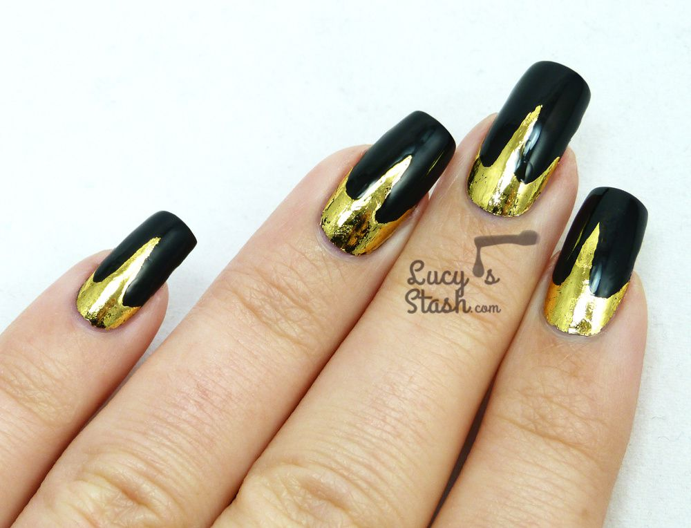 Lady Gaga Fame Perfume Inspired Nail Art with TUTORIAL