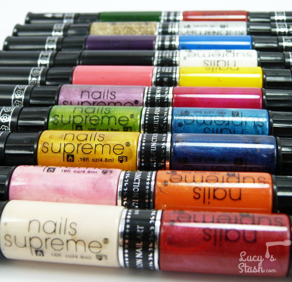 Nails Supreme Nail Art Pens - Review & Nail Art Designs - Lucy\'s Stash
