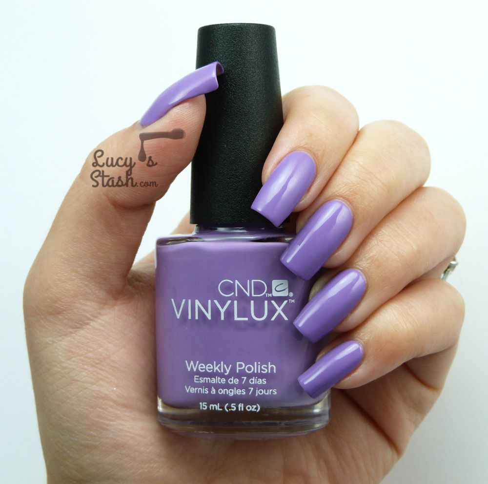 CND VINYLUX Lilac Longing - Review & Swatches