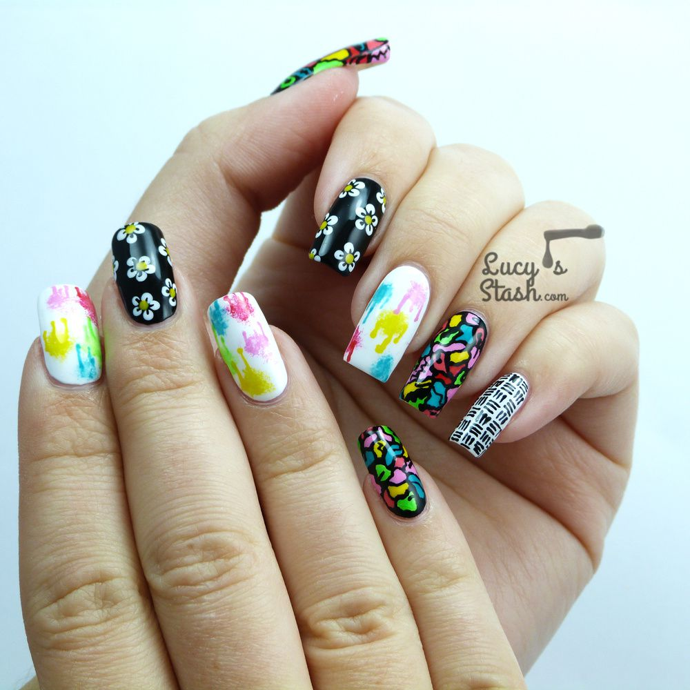 Nails Supreme Nail Art Pens - Review &amp&#x3B; Nail Art Designs