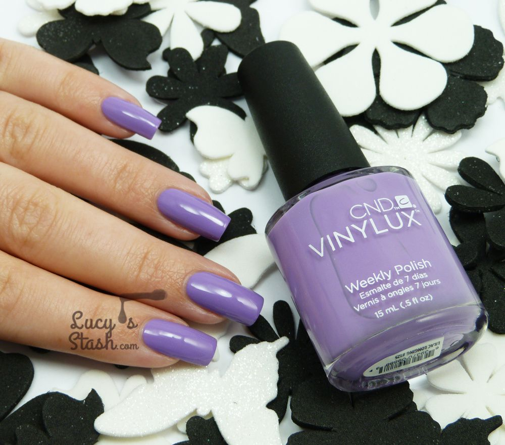 CND VINYLUX Lilac Longing - Review &amp&#x3B; Swatches