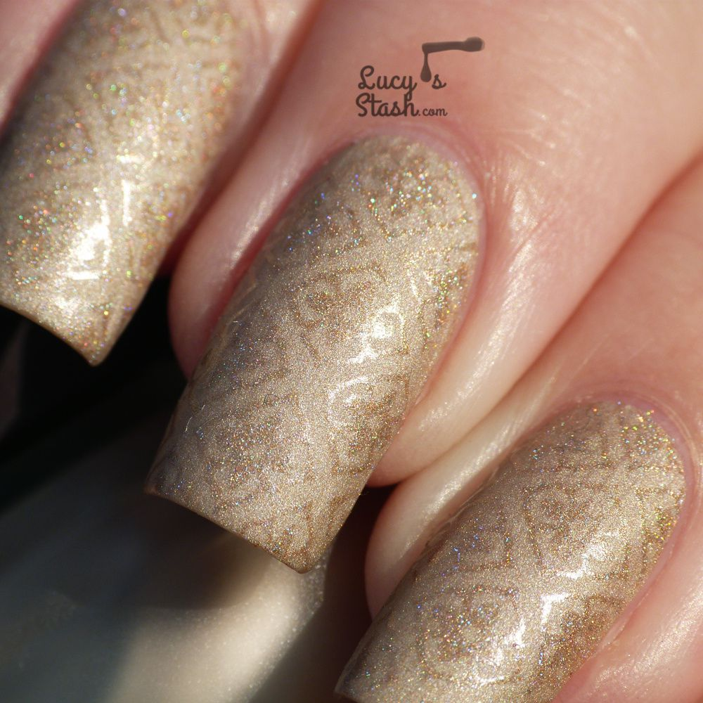 Elegant Stamping Nail Art feat. SpaRitual and MoYou London